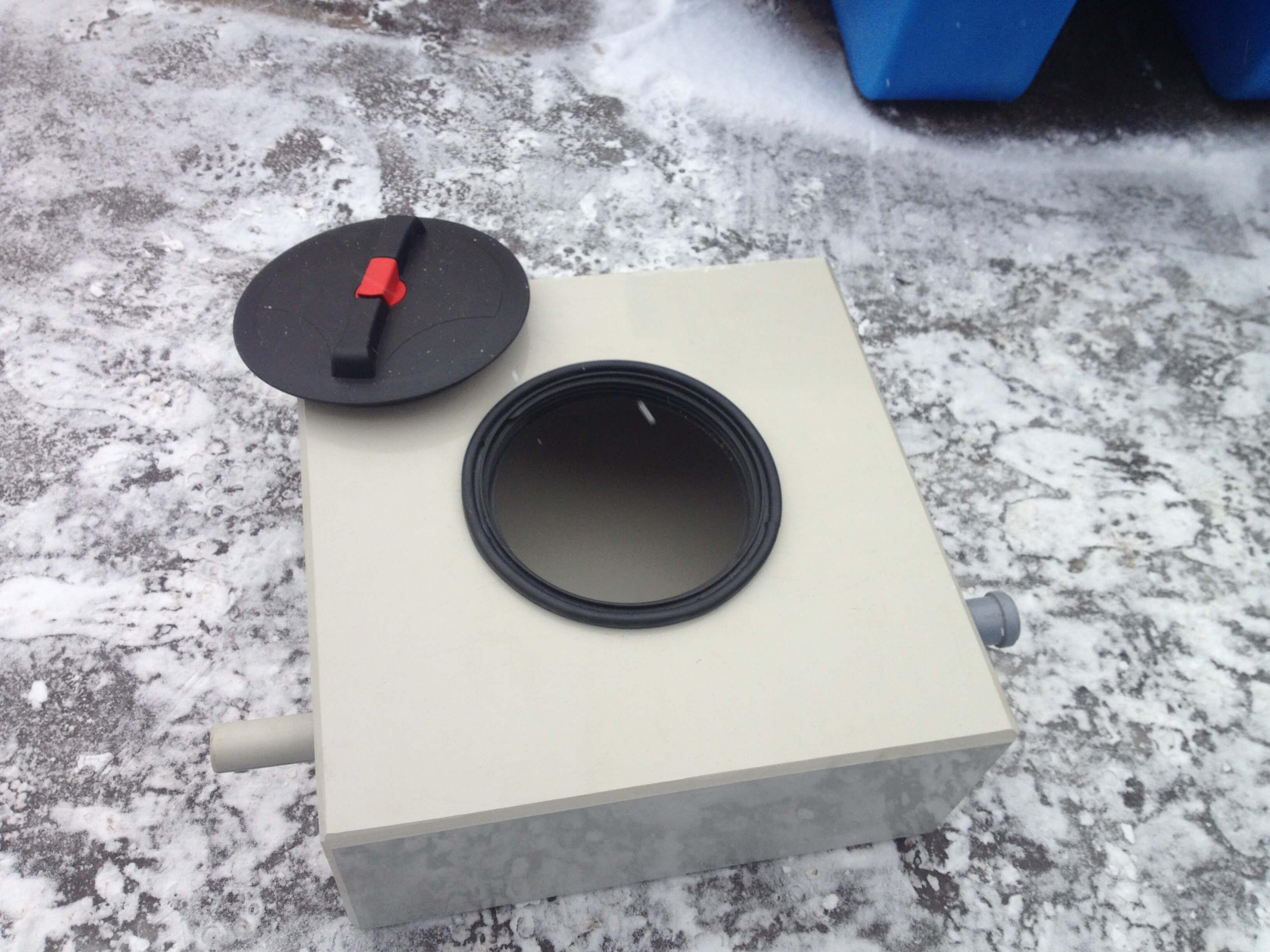 Фото №1. Жироуловитель для столовой на 0,5 л/с . (Вид 1)