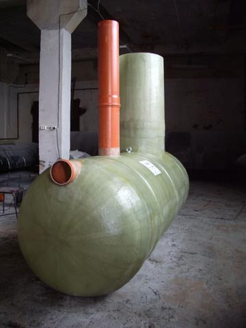 Фото №1. Жироуловитель для канализации на 8 л/с. (Вид 1)