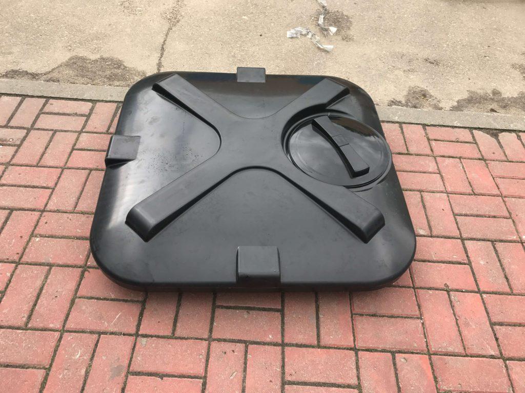 Пластиковый бак для душа Росток на 110 литров