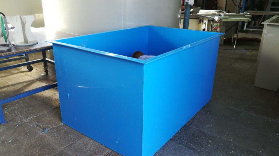 Фото №1. Ванны для выращивания раков. (Вид 1)