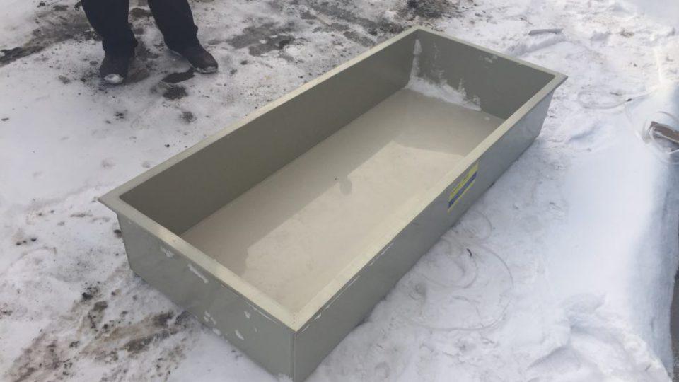 Фото №1. Ванна–вставка в металлическую ванну. (Вид 1)