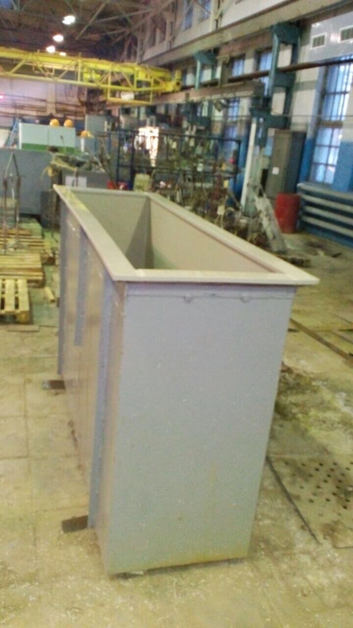 Фото №1. Гальваническая ванна прямоугольная. (Вид 1)