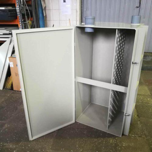 Прямоугольная пластиковая емкость для очистных сооружений промышленных стоков (Germes-Plast П 580 ПП ОС)