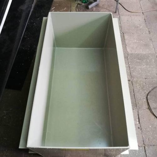 Ванна самонесущая с постановкой на поверхность земли для засолки рыбы