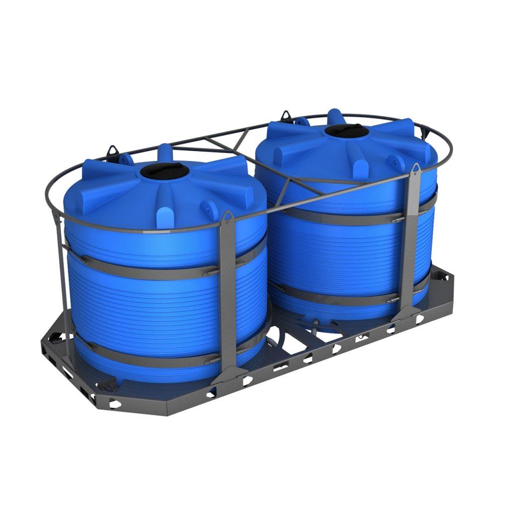 Кассета универсальная транспортная (ЭВЛ 5000 литров x 2 шт