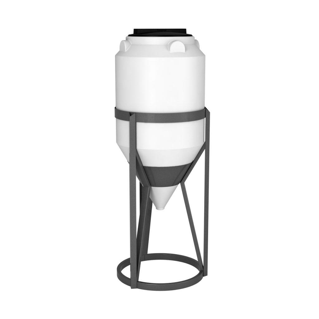 Пластиковая емкость ФМ 120 литров в обрешетке 1