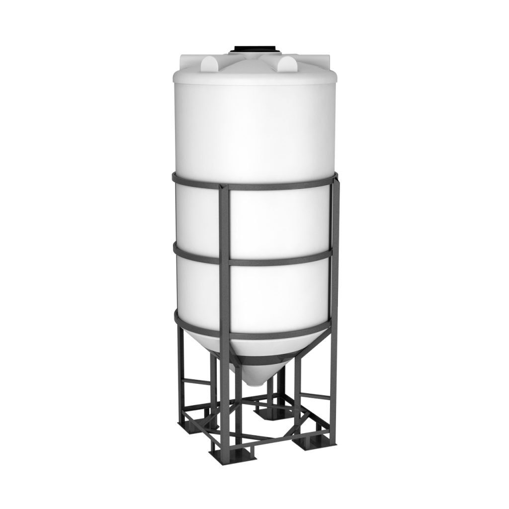 Пластиковая емкость ФМ 2000 литров в обрешетке 1