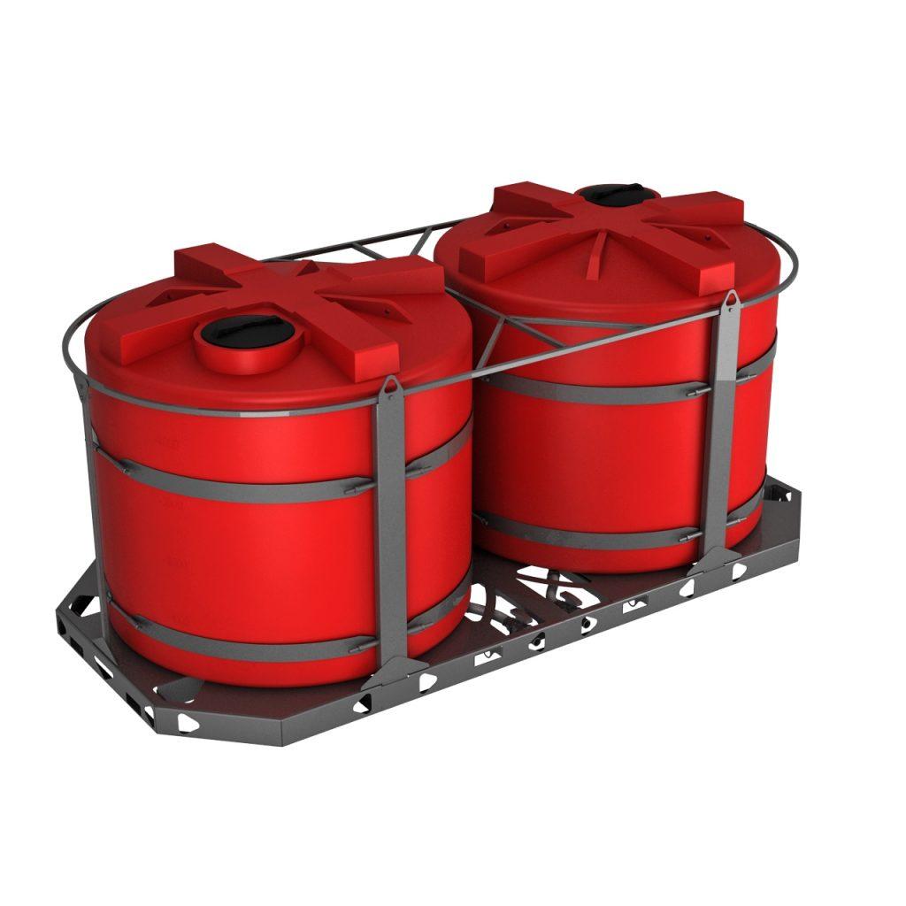 Пластиковая емкость КАС 5000 литров TH 1