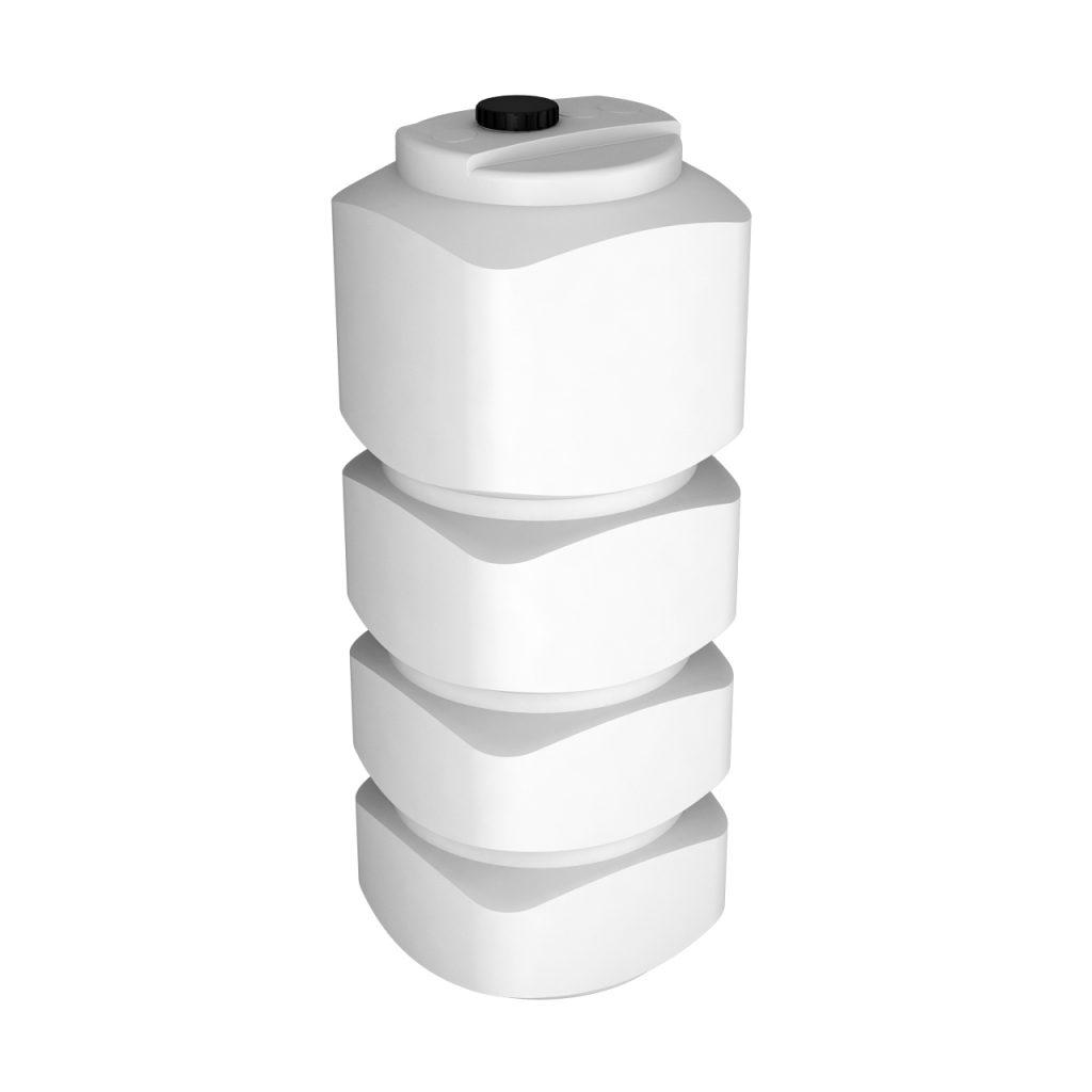 Пластиковая емкость L 1000 литров oil 1