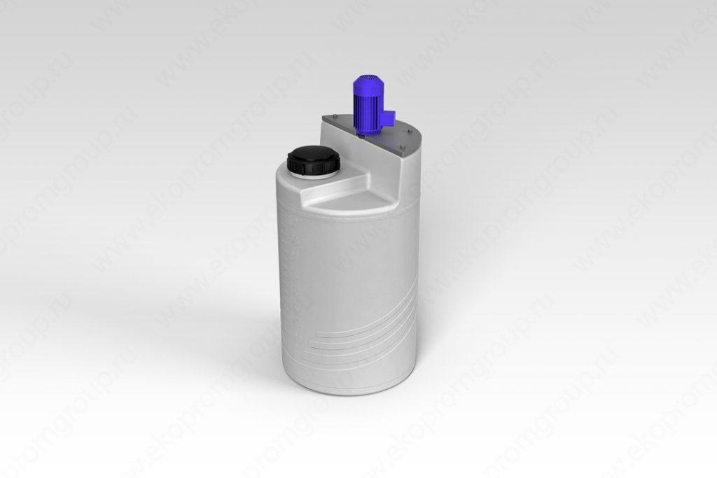 Емкость дозировочная 100 литров с турбинной мешалкой 1