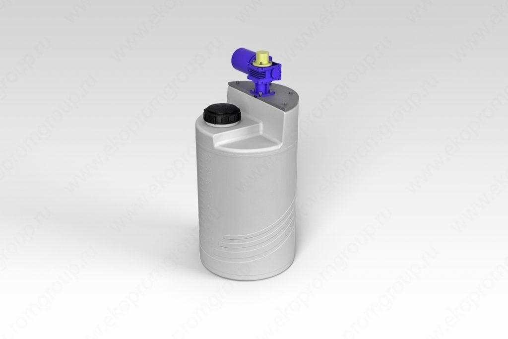 Емкость дозировочная 100 литров с лопастной мешалкой 1