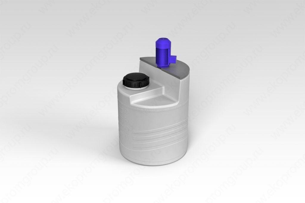 Емкость дозировочная 60 литров с турбинной мешалкой 1