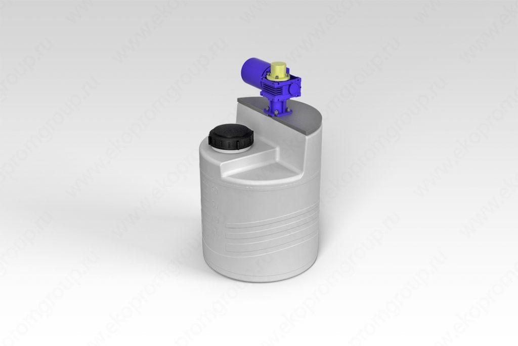 Емкость дозировочная 60 литров с лопастной мешалкой 1